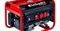 Einhell Generador Eléctrico (de Gasolina) TC-PG 2500, 2400 W