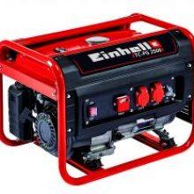 Einhell Generador Eléctrico (de Gasolina) TC-PG 2500, 2400 W; Potente y Robusto
