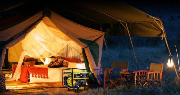 generador camping